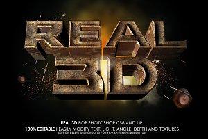 Real 3D Rustic Metal
