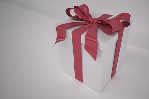 Gift Box with Knotted Bow