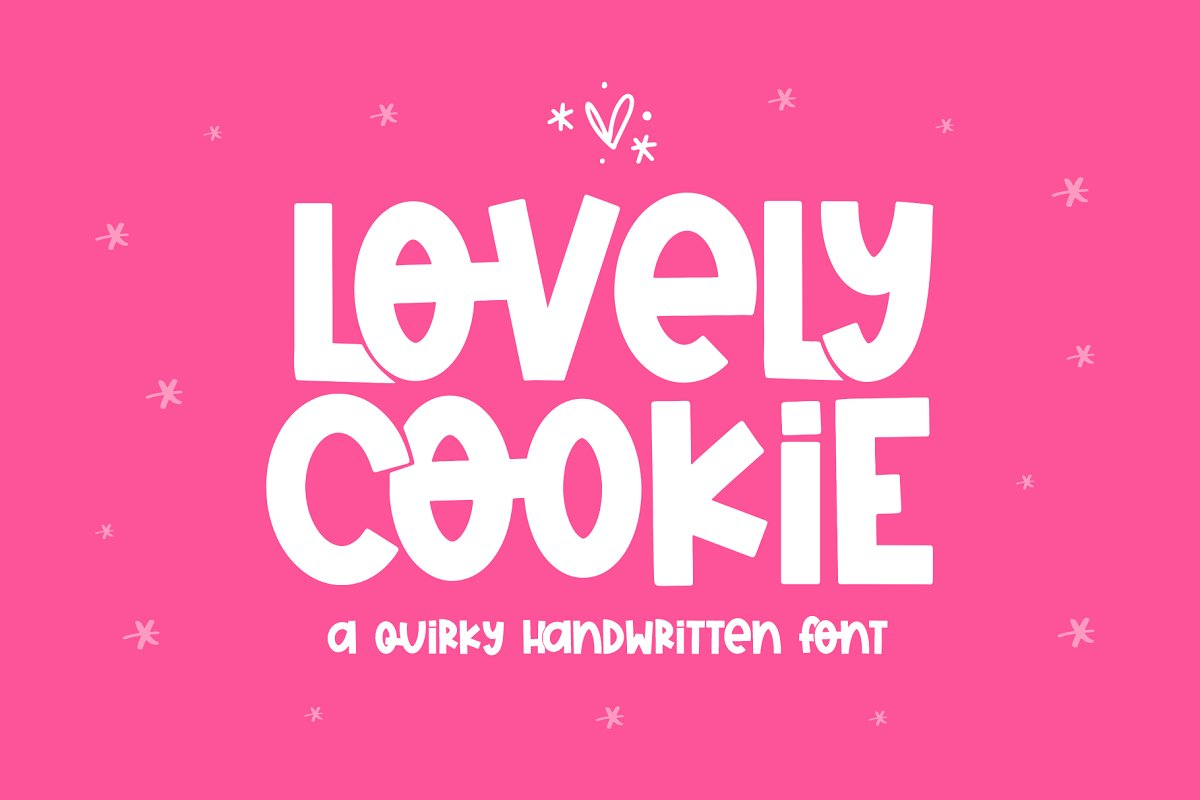 Lovely Cookie | Handwritten Font
