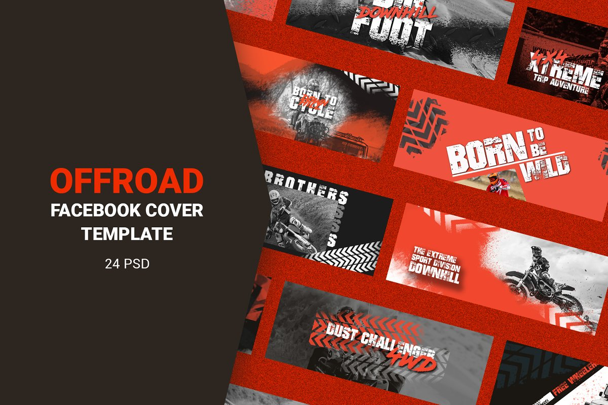 Offroad Facebook Cover Templates