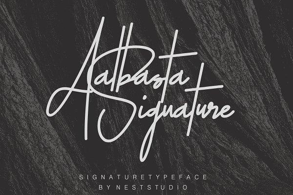 Aalbasta Signature