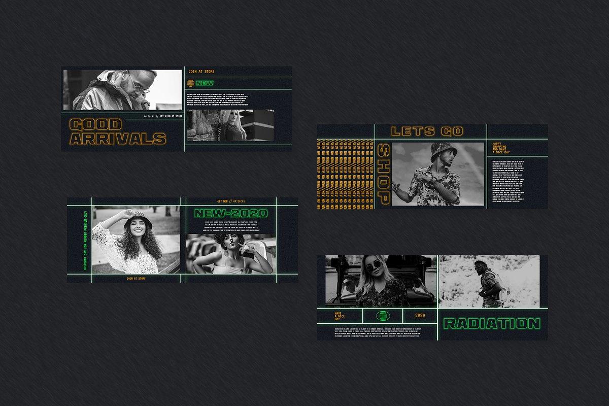 Fashion Vol.2 Facebook Cover in Facebook Templates - product preview 2
