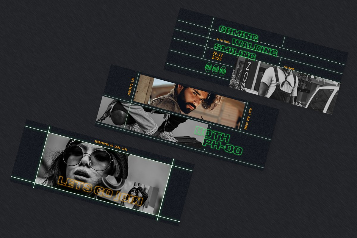 Fashion Vol.2 Facebook Cover in Facebook Templates - product preview 4