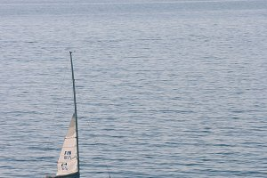 boat at sea no.3