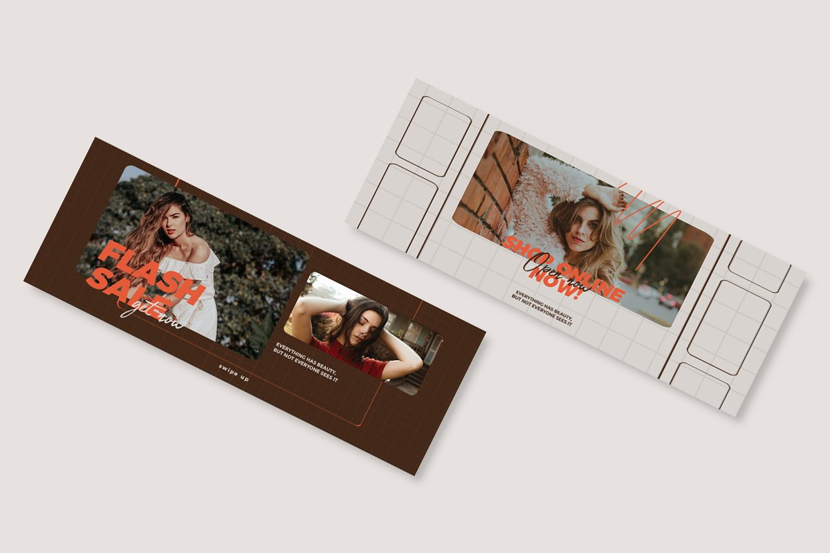 Fashion Vol.1 Facebook Cover in Facebook Templates - product preview 3