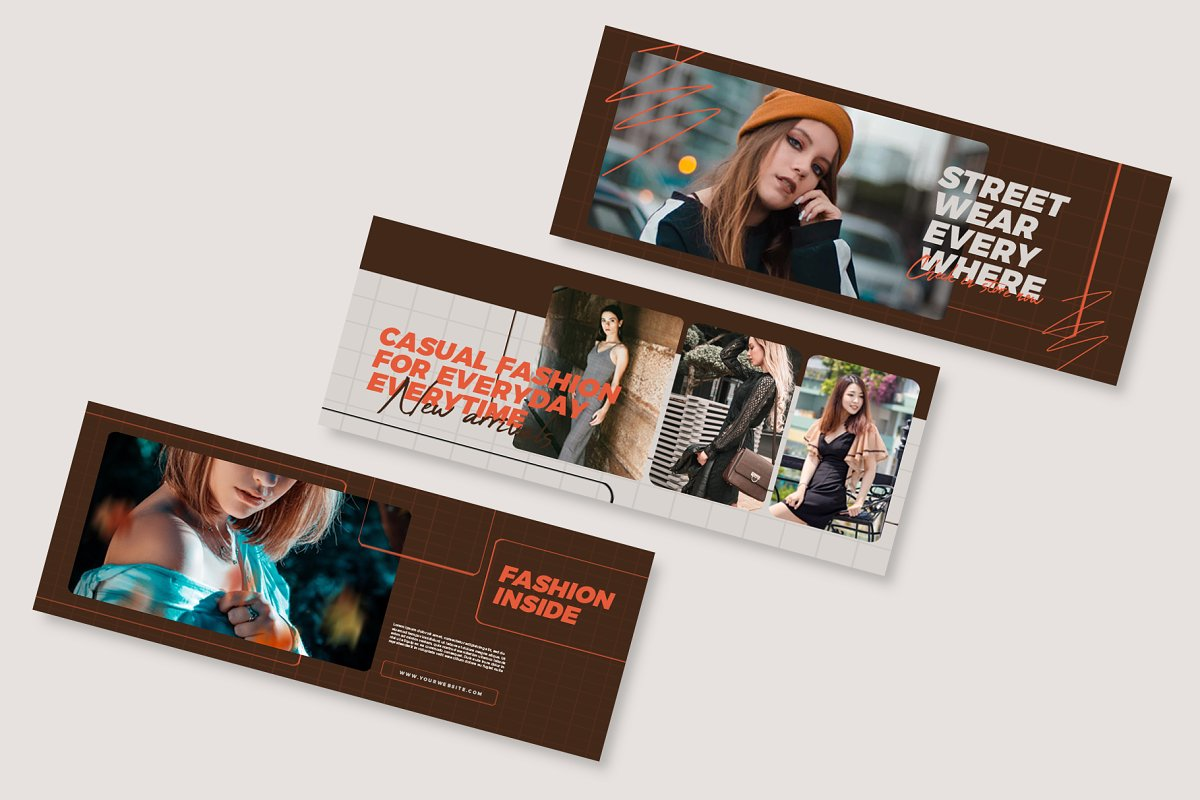 Fashion Vol.1 Facebook Cover in Facebook Templates - product preview 5
