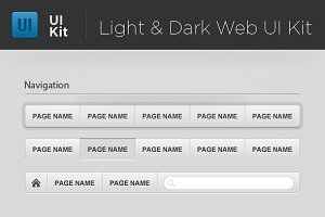 Light & Dark Web UI Starter Kit