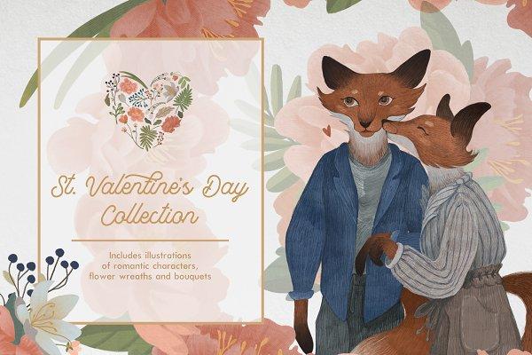 Romantic couples & Flowers