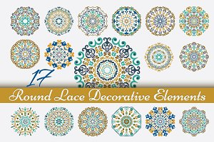 Round Ornaments & Pattern