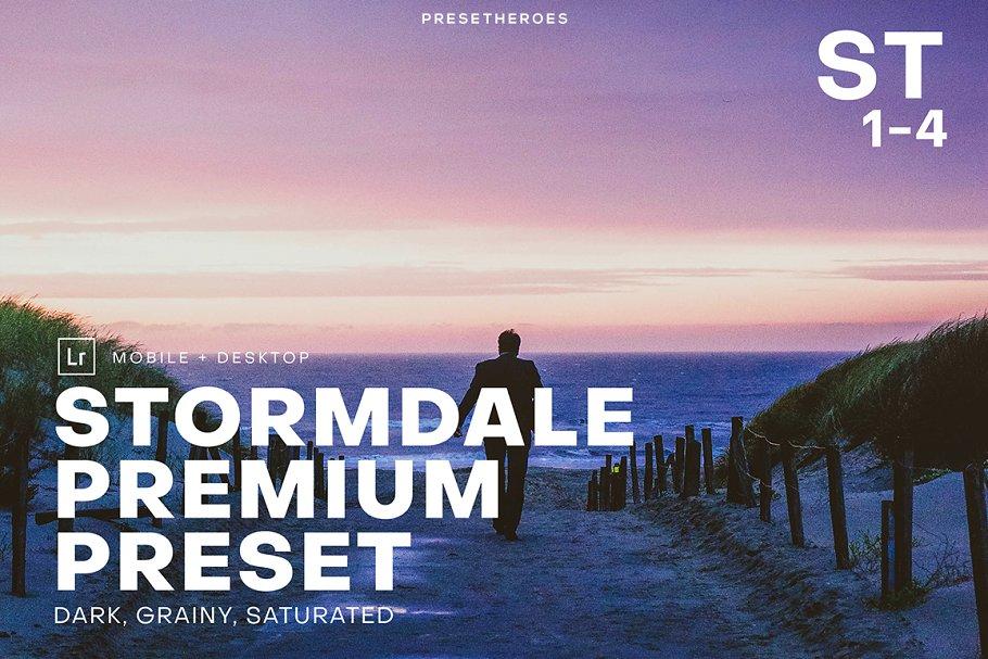 Stormdale Moody Lightroom Preset