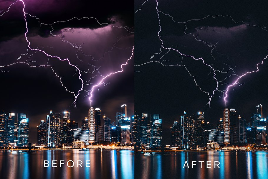 Stormdale Moody Lightroom Preset in Add-Ons - product preview 3