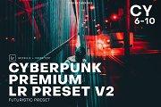 Cyberpunk Futuristic Lightroom 2