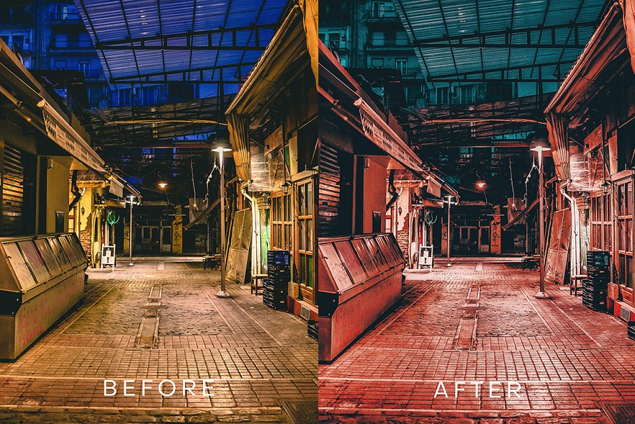 Cyberpunk Futuristic Lightroom in Add-Ons - product preview 1