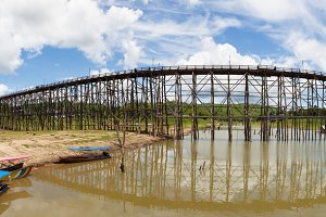 Panorama sagklaburi bridge