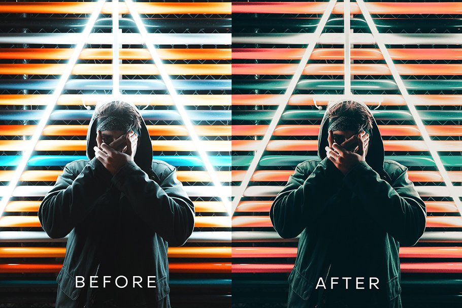 Cyberpunk Futuristic Lightroom in Add-Ons - product preview 2