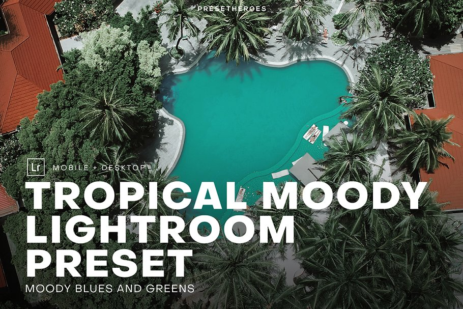 Tropical Moody Lightroom Preset
