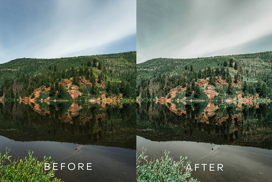 Tropical Moody Lightroom Preset in Add-Ons - product preview 1