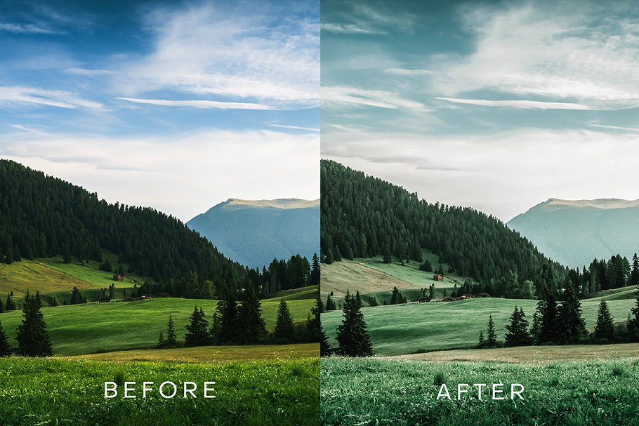 Tropical Moody Lightroom Preset in Add-Ons - product preview 2