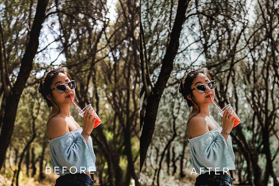 Tropical Moody Lightroom Preset in Add-Ons - product preview 3