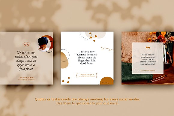 Instagram Pack / Kayla in Instagram Templates - product preview 4