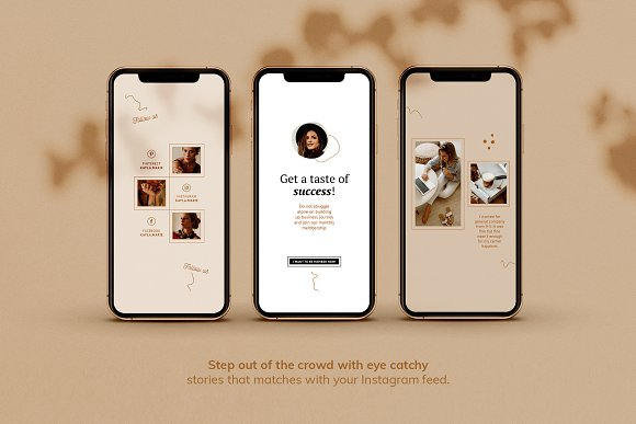 Instagram Pack / Kayla in Instagram Templates - product preview 5