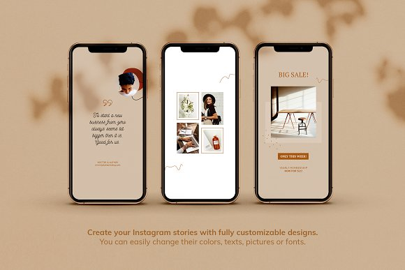 Instagram Pack / Kayla in Instagram Templates - product preview 7