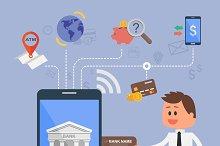 Business & finance concept cartoons