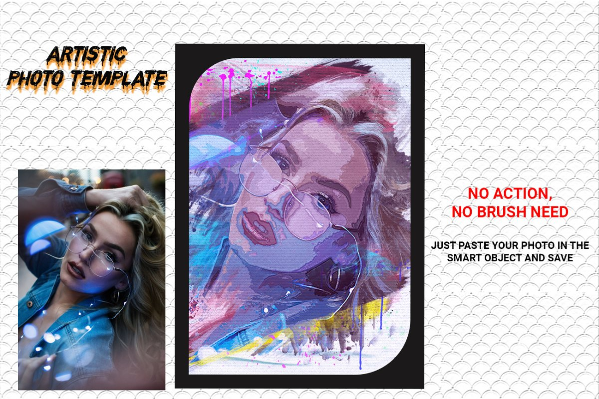 Artistic Photo Template in Add-Ons - product preview 9