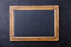 Vintage chalk board