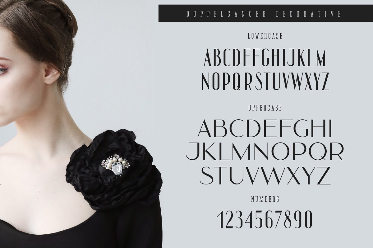 Doppelganger - Modern Sans Serif in Display Fonts - product preview 3