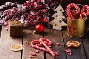Traditional Christmas Hard Candies