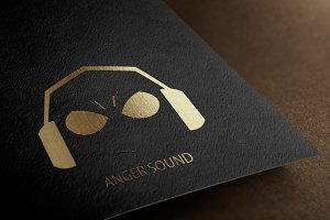 Anger Sound Logo Design