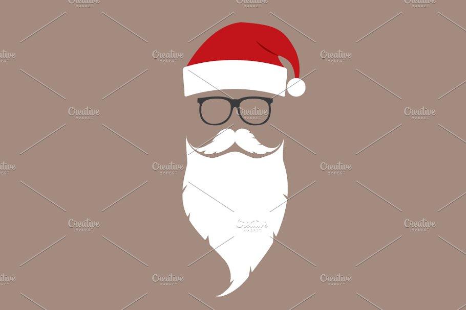 aee738954e2 Santa ~ Illustrations ~ Creative Market