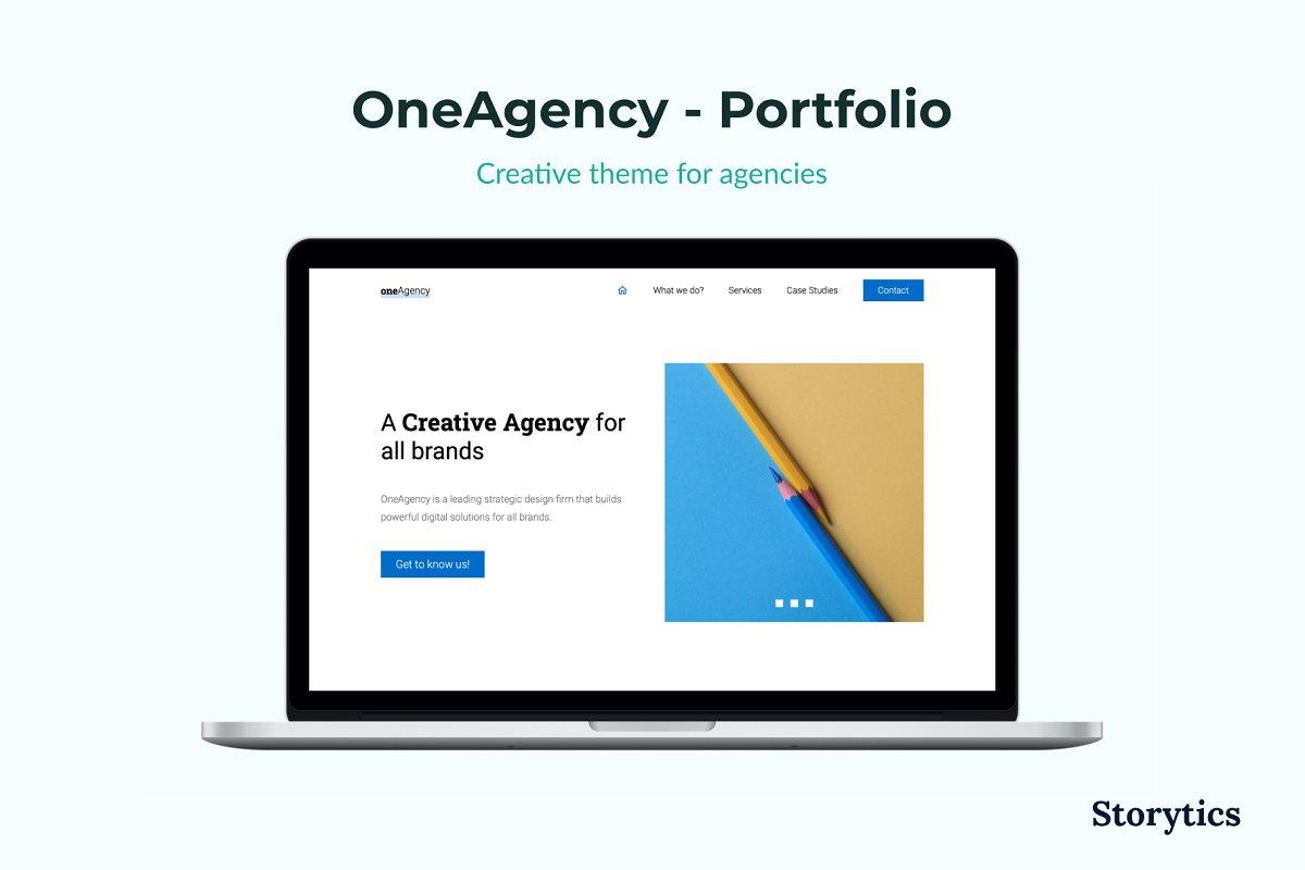 OneAgency - Portfolio