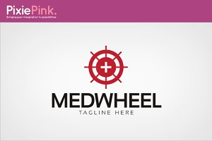 Med Wheel Logo Template
