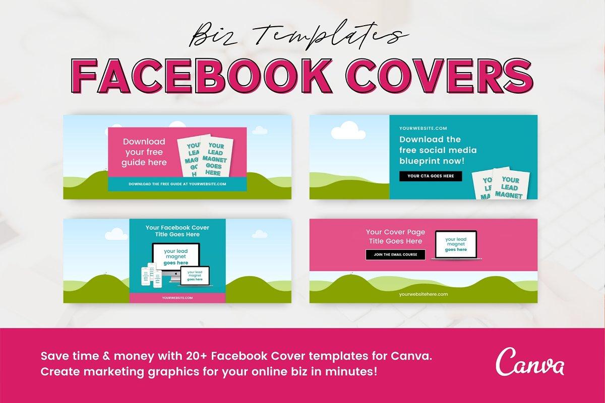 20+ Canva Facebook Cover Templates