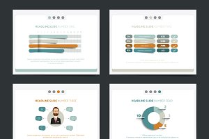 Business presentation template.