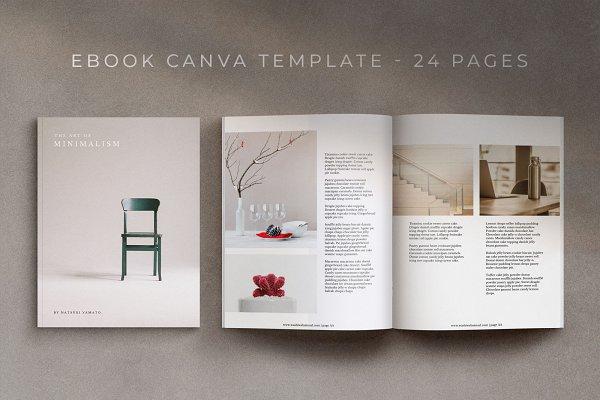 eBook/Magazine Canva Template- Washi
