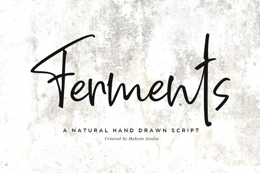 Ferments // Handwritten Scripts