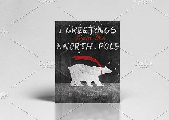 20% discount 8 RETRO CHRISTMAS CARDS