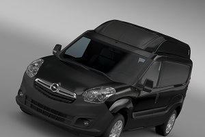 Opel Combo LWB High Roof Cargo (D) 2