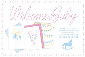Welcome Baby (ALL Vectors)
