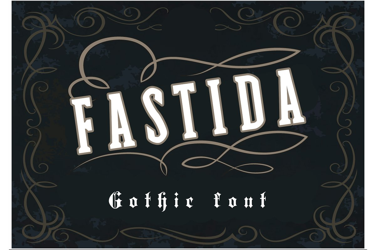 Fastida Gothic Font