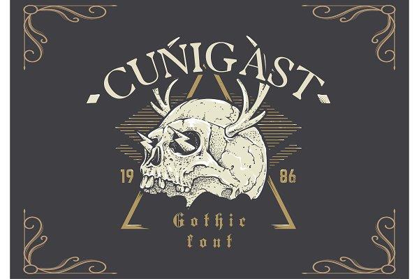 Cunigast Gothic Font