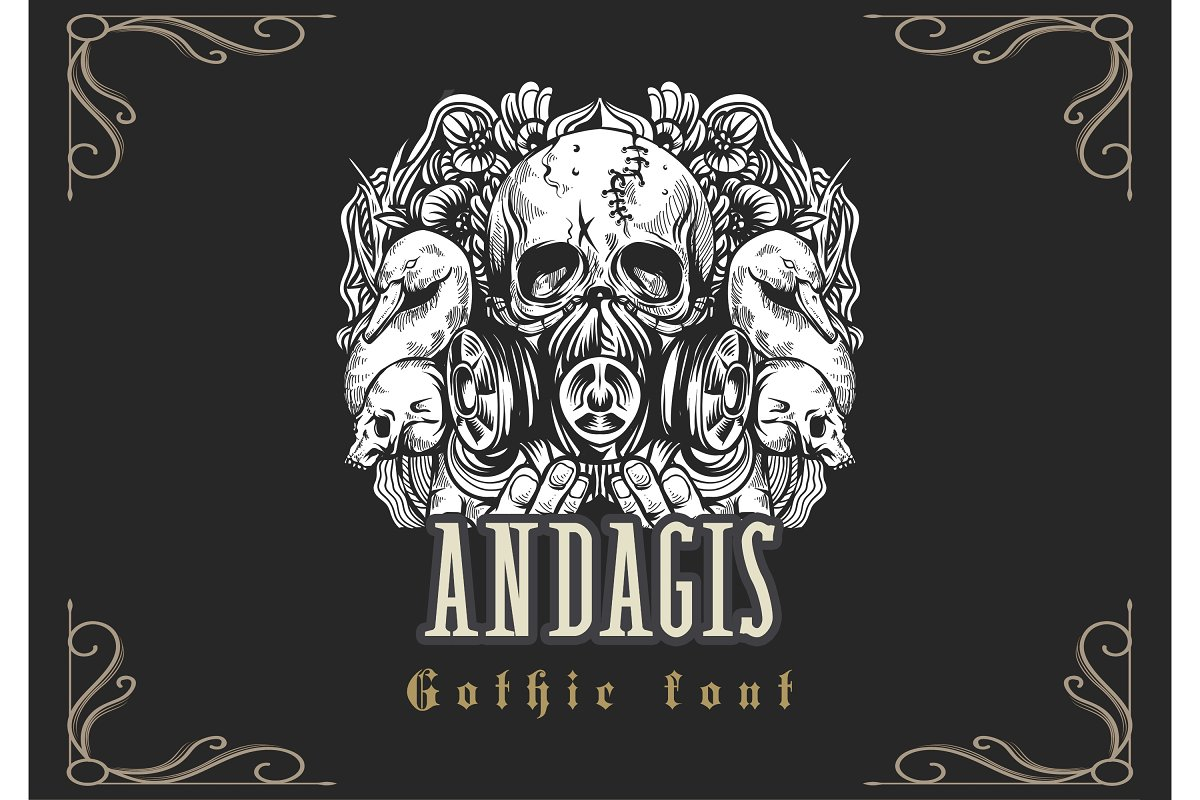 Andagis Gothic Font
