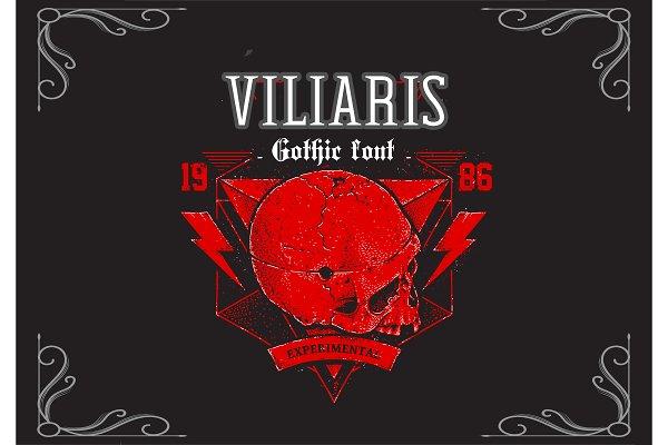 Viliaris Gothic Font
