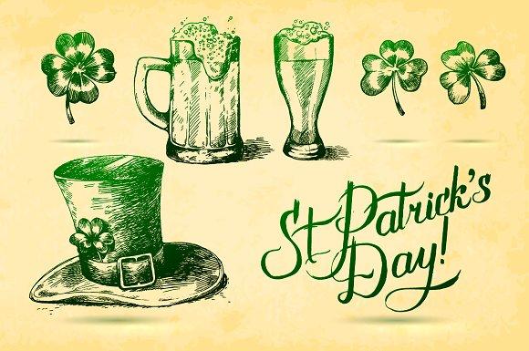 Happy St. Patrick Day! - Illustrations