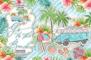 Go to the Beach design