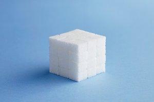 Cube of sugar