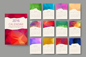 Geometrical calendar of 2016